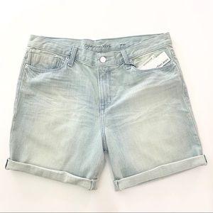 Calvin Klein HighRise Jean Boyfriend Shorts 30 NWT
